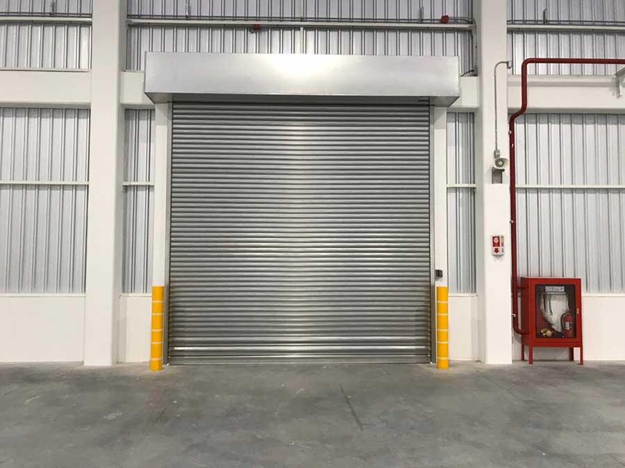 ประตูม้วนสแตนเลส
